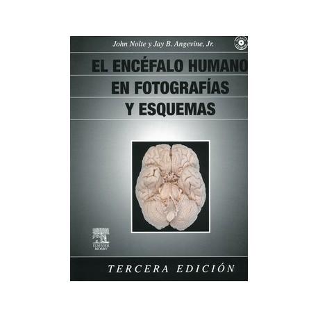 EL ENCEFALO HUMANO EN FOTOGRAFIAS Y ESQUEMAS + CD-ROM
