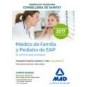 MEDICO DE FAMILIA Y PEDIATRA DE EAP INSTITUCIONES SANITARIAS CONSELLERIA SANITAT COMUNIDAD VALENCIANA. TEMARIO PARTE COMUN Y TEST. VOLUMEN 2 NORMATIVA GENERAL E INFORMATICA