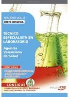 TECNICO ESPECIALISTA EN LABORATORIO A.V.S. PARTE ESPECIFICA VOL.2