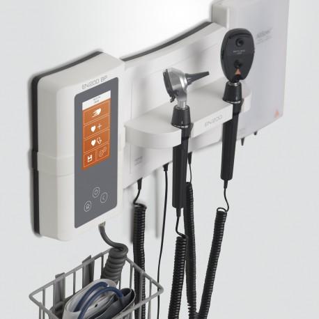 CENTRO DE DIAGNOSTICO MURAL EN 200 CON OTOSCOPIO K100 Y OFTALMOSCOPIO K180 3.5 V Y JUEGO DE ESPECULOS SANALON