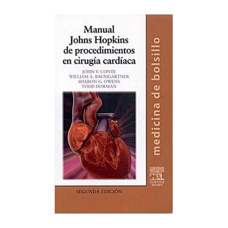 MANUAL JOHNS HOPKINS DE PROCEDIMIENTOS EN CIRUGIA CARDIACA