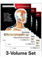 CUMMINGS OTOLARYNGOLOGY (3 VOL.) HEAD AND NECK SURGERY