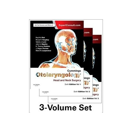 CUMMINGS OTOLARYNGOLOGY (3 VOL.) HEAD AND NECK SURGERY