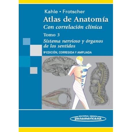 ATLAS DE ANATOMIA CON CORRELACION CLINICA (VOL.3) SISTEMA NERVIOSO