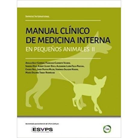 MANUAL CLINICO DE MEDICINA INTERNA EN PEQUEÑOS ANIMALES II