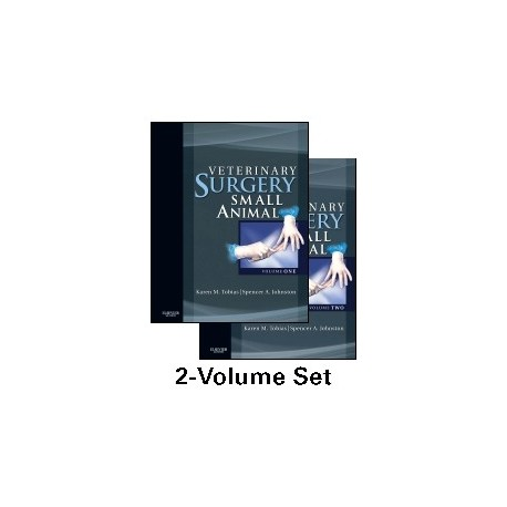 VETERINARY SURGERY. SMALL ANIMAL (2 VOL.)