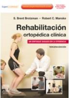 REHABILITACION ORTOPEDICA CLINICA + EXPERT CONSULT. UN ENFOQUE BASADO EN LA EVIDENCIA