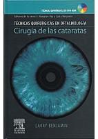 CIRUGIA DE LAS CATARATAS + DVD-ROM (TECNICAS QUIRURGICAS EN OFTALMOLOGIA)