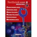 TEXTBOOK AMIR MEDICINA 2. ENDOCRINOLOGIA, INMUNOLOGIA, HEMATOLOGIA, REUMATOLOGIA, INFECCIOSAS, MICROBIOLOGIA.
