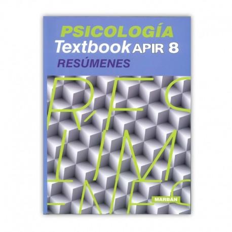 PSICOLOGIA TEXTBOOK APIR 8 RESUMENES