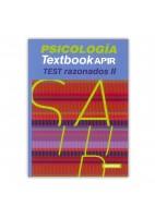 PSICOLOGIA TEXTBOOK APIR TEST RAZONADOS II