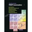 TEXTBOOK AFIR TEST RAZONADOS 1 BIOQUIMICA, BIOLOGIA MOLECULAR, FARMACOLOGIA, FARMACOTERAPIA, BIOFARMACIA, FARMACOCINETICA.