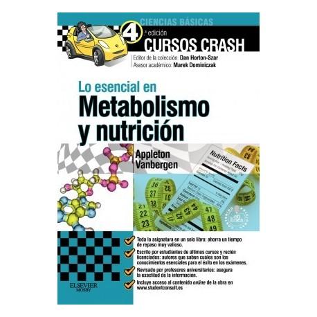 LO ESENCIAL EN METABOLISMO Y NUTRICION + STUDENT CONSULT EN ESPAÑOL