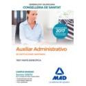 AUXILIAR ADMINISTRATIVO INSTITUCIONES SANITARIAS CONSELLERIA SANITAT COMUNIDAD VALENCIANA. TEST PARTE ESPECIFICA