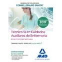 TECNICO/A EN CUIDADOS AUXILIARES DE ENFERMERIA INSTITUCIONES SANITARIAS CONSELLERIA SANITAT COMUNIDAD VALENCIANA. TEMARIO PARTE ESPECIFICA. VOLUMEN 1
