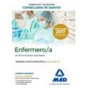 ENFERMERO/A INSTITUCIONES SANITARIAS CONSELLERIA SANITAT COMUNIDAD VALENCIANA. TEMARIO PARTE ESPECIFICA VOLUMEN 3