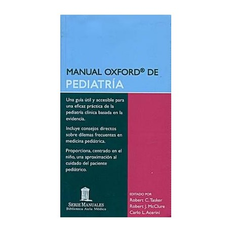 MANUAL OXFORD DE PEDIATRIA
