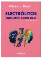 ROSE & POST ELECTROLITOS Y EQUILIBRIO ACIDO-BASE