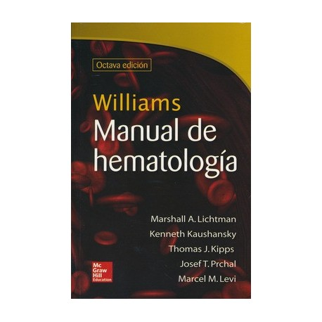 WILLIAMS MANUAL DE HEMATOLOGIA