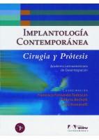 IMPLANTOLOGIA CONTEMPORANEA. CIRUGIA Y PROTESIS