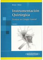 INSTRUMENTACION QUIRURGICA. TECNICAS EN CIRUGIA GENERAL (VOL.1)
