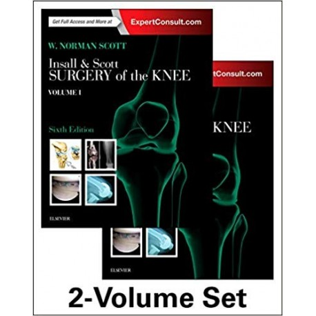 INSALL & SCOTT SURGERY OF THE KNEE (2 VOL.) ONLINE AND PRINT