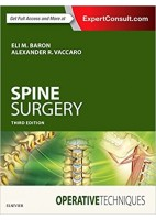 SPINE SURGERY. OPERATIVE TECHNIQUES (ONLINE AND PRINT)