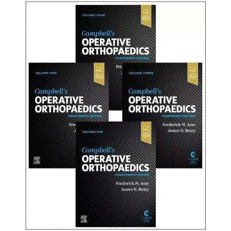 CAMPBELL.S OPERATIVE ORTHOPAEDICS (4 VOLUME SET) INCLUDES DIGITAL VERSION